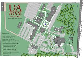 campus map  university of arkansas – hope  texarkana