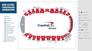 Verizon Center Suite Seating Chart Food Beverage Options Capital One Arena