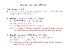 Ppt Chapter 16 Lecture 1 Buffers Powerpoint Presentation Id 4347012