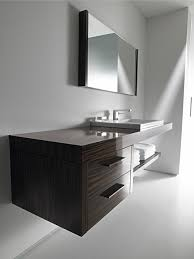 2ndfloor console with undercounter basin 2drawer a shelf wallmounted vanity unit in pine terra