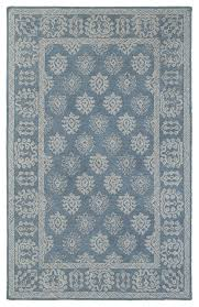 mackenzie updated traditional blue and gray hand crafted area rug mediterranean area rugs by super area rugs