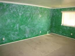 green faux paint rag rolled foreclosure home house fixer upper phoenix
