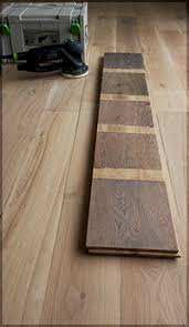 staining wood floor and finishes