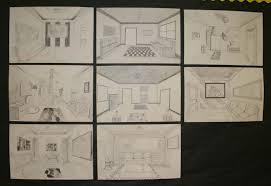 open door drawing perspective. Graphite Pencils Open Door Drawing Perspective