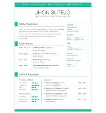 Creative Resume Templates Free Top Rated Resume Template Designs