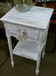 rustic white end tables n6335492 lively side limited distressed dining table for 93