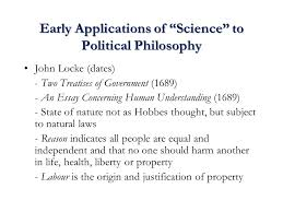 history of economic thought ppt early applications of science to political philosophy
