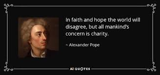 Hope And Faith Quotes Enchanting TOP 48 FAITH HOPE AND CHARITY QUOTES AZ Quotes