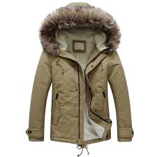 jackets coats mens warm cotton winter casual jacket upset coats color khaki size m was listed for r1 107 64 on 8 oct at 00 09 by the world