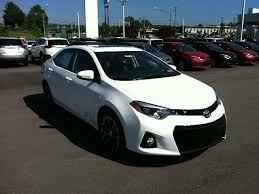 toyota corolla 2015 white. Beautiful Corolla White 2015 Toyota Corolla S Plus This Is My New Car But Intended T