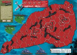 wwii battles  iwo jima map