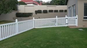 closed pvc picket fences gothic