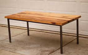 magnificent ideas wood metal dining table chic metal and wood