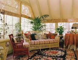 wicker furniture for sunroom. Wonderful Sunroom Image By Adeeni Design Group In Wicker Furniture For Sunroom