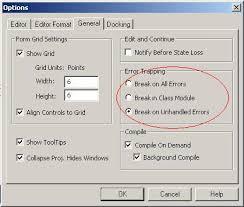 Five Tips For Handling Errors In Vba Techrepublic