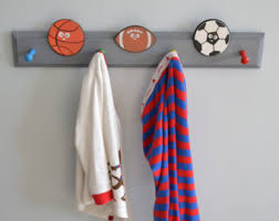 Sports Coat Rack Coat Rack Pegs Etsy 2