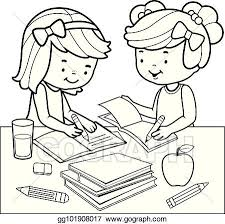 black and white coloring book page