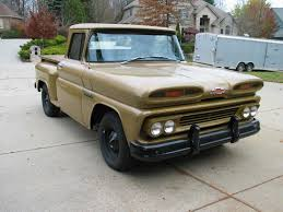 1960 Chevrolet Apache 10 Shortbed Steside Pick up 6061 original ...