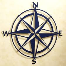 metal star wall decor: wall art design ideas nautical metal decor compass wall art