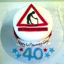 birthday cake ideas for 40 year old male images and photos