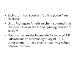 Electronegativity. In A Covalent Bond Between Identical Atoms Eg. H ...