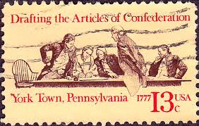 from to the articles of confederation provided the united english articles of confederation 1977 issue 13c jpg