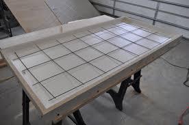 concrete table re enforcement