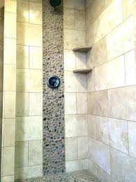 pebble stone shower floor tile bathroom ideas natural pebbles stones and wall ti stone shower floor river rock