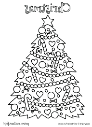 Free Printable Christmas Tree Coloring Pages Tree Coloring Pages For