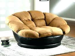 Nice Big Round Swivel Chair Reading Bedroom Lounge Comfy Chairs For  Oversized S97
