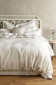 soft washed linen duvet