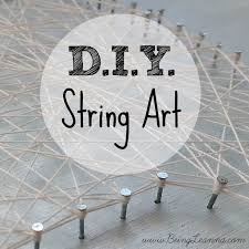 Diy String Art Diy String Art Being Leanna