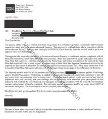 Wells Fargo Home Equity Short Sale Approval Letter Virginia Short
