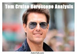 Tom Cruises Horoscope Analysis Astrotalk Blog Online