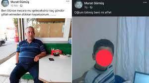 Yazdıkları yürek burktu! Mersin Mut'ta esnaf Murat Gümüş intihar etti!  Geride oğlunu bıraktı...