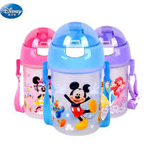 350 ML <b>Disney Minnie</b> Mickey Mouse cup student outdoor sports ...