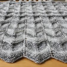 Chevron Knitting Pattern Mesmerizing Chevron Knitting Pattern A Knitting Blog