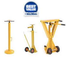 Trailer Stabilizing Jack Stands Dock \u0026 Truck Equipment | Stabilizers Jacks