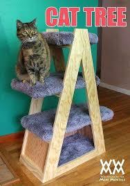 cat easy diy tree house
