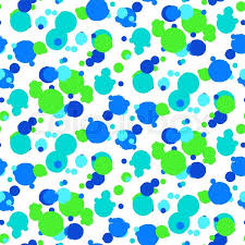 Polka Dot Pattern Impressive Ditsy Vector Polka Dot Pattern With Random Hand Painted Circles In