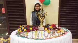 Priyamvada Wins Bagful Of Medals