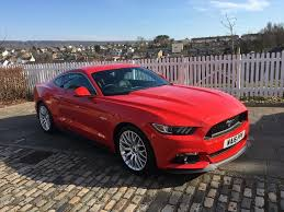 Ford Mustang GT 5.0 V8 UK RHD 2016 - Fantastic Condition Leather Custom  Pack