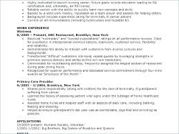 Resume Examples Cna Example Of A Resume Cover Letter Images Leading