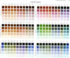 Richards Paint Color Chart Studio Art Tips By Kelley Sanford In 2019 Art Art Tips