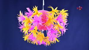 Crepe Paper Flower Balls Diy Decorative Crepe Paper Flower Ball Tutorial How To Make
