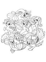 Kleurplaten My Little Pony Baby Brekelmansadviesgroep