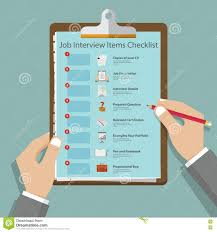 job interview icons in flat design on clipboard job interview job interview icons in flat design on clipboard job interview preparation infographic vector