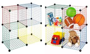 Multi-Color Wire Storage Cubes: Multi-Color Wire Storage Cubes