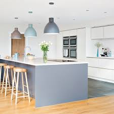 a series of beautiful pendant lights or a fabulous single statement piece above a dining table will help diffeiate the dining space from the kitchen s