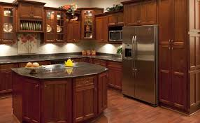 Cherry Shaker Kitchen Cabinets Shaker Cherry Kitchen Cabinets Detroit Mi Cabinets
